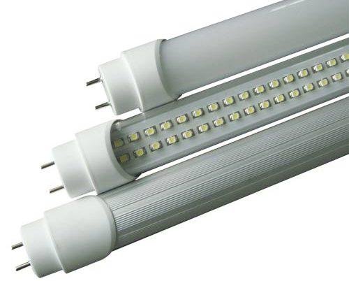 Substituição de lampada fluorescente por lampada LED tubular